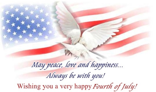 4th july greetings