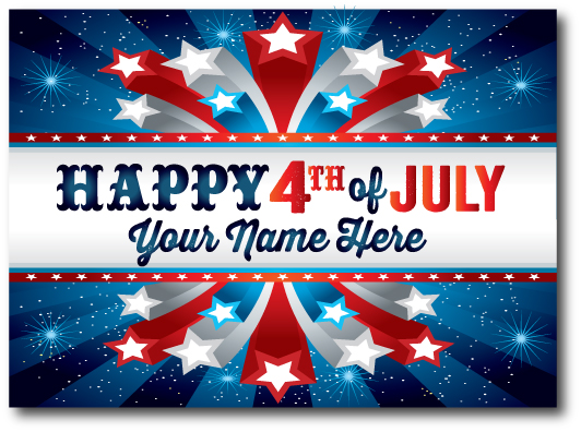 Fourth Of July Greetings 1