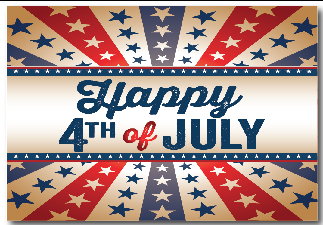 happy 4th july greetings