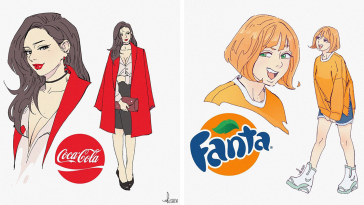 13 Of The Most Popular Soda Drinks Turned Into Cartoon