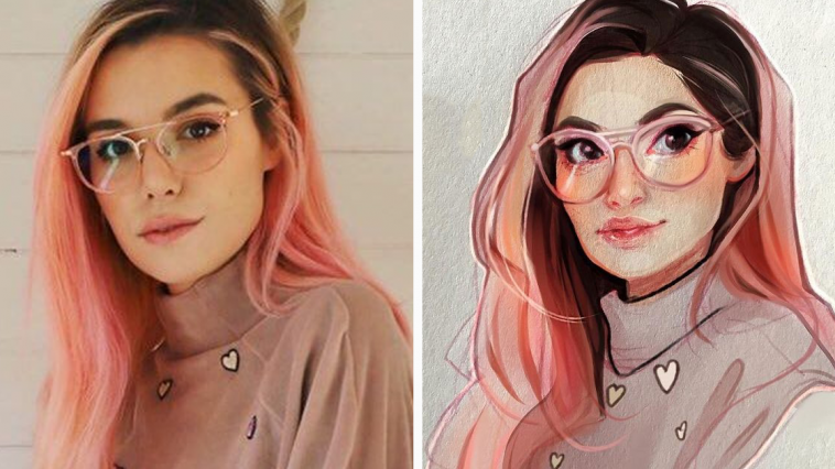 This Dutch Artist Turns Herself And Other People Into Cartoons